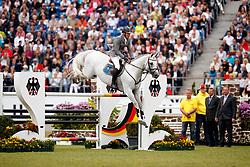 Weishaupt, Philipp (GER), LB Convall<br /> Aachen - CHIO 2017<br /> Grosser Preis von Aachen Rolex Grand Prix<br /> © www.sportfotos-lafrentz.de/Stefan Lafrentz