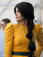 Venice, Italy, 29th August 2019, Mila Alzahrani at the photocall for the film The Perfect Candidate at the 76th Venice Film Festival, Sala Grande. Credit: Doreen Kennedy