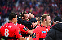Carl HAYMAN / Bernard LAPORTE - 02.05.2015 - Clermont / Toulon - Finale European Champions Cup -Twickenham<br />