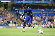 Chelsea striker Michy Batshuayi (23)  chasing ball during the EFL Cup match between Chelsea and Bristol Rovers at Stamford Bridge, London, England on 23 August 2016. Photo by Matthew Redman.