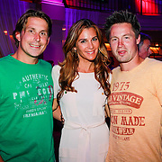 NLD/Hilversum/20130820- Najaarspresentatie RTL 2013, Lodewijk Hoekstra, Quinty Trustfull en Thomas Verhoek
