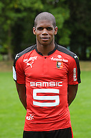 Ludovic Baal of Rennes during the presentation of the Stade Rennais Team on September 12, 2016 in Rennes, France. (Photo by Andre Ferreira/Icon Sport)