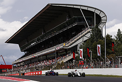 May 13, 2018 - Barcelona, Spain - Motorsports: FIA Formula One World Championship 2018, Grand Prix of Spain, .#9 Marcus Ericsson (SWE, Alfa Romeo Sauber F1 Team), #28 Brendon Hartley (NZL, Red Bull Toro Rosso Honda) (Credit Image: © Hoch Zwei via ZUMA Wire)
