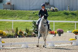 AVENCHES - FEI Eventing European Championship 2021<br /> <br /> KING Kitty (GBR), Vendredi Blats<br /> Teilprüfung Dressur Teil 2<br /> DRESSAGE - Part 2<br /> <br /> Avenches, IENA Institut Equestre National Avenches<br /> 24. September 2021<br /> © www.sportfotos-lafrentz.de/Stefan Lafrentz