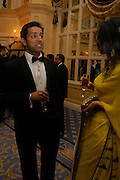 Amerjit Deu and Reshma Mukhi. The Asian Business Awards 2005. Hilton. London. 7 April 2005. ONE TIME USE ONLY - DO NOT ARCHIVE  © Copyright Photograph by Dafydd Jones 66 Stockwell Park Rd. London SW9 0DA Tel 020 7733 0108 www.dafjones.com