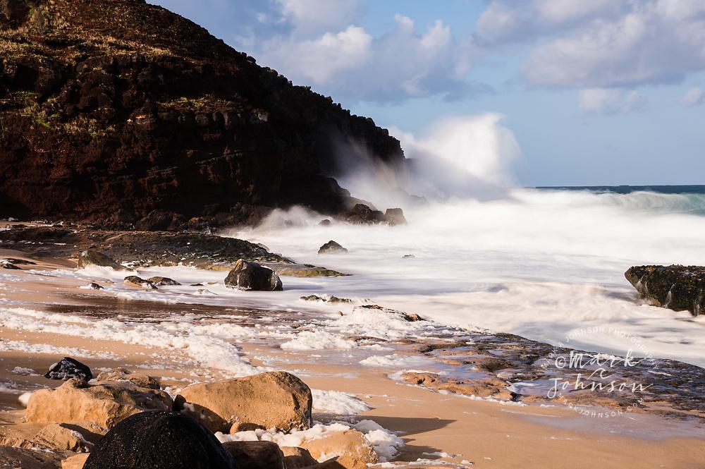 Beautiful Kepuhi Beach, West Molokai, Hawaii