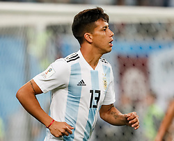 June 26, 2018 - Saint Petersburg, Russia - Maximiliano Meza of Argentina national team during the 2018 FIFA World Cup Russia group D match between Nigeria and Argentina on June 26, 2018 at Saint Petersburg Stadium in Saint Petersburg, Russia. (Credit Image: © Mike Kireev/NurPhoto via ZUMA Press)