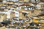 Cityscape of Fes Morocco