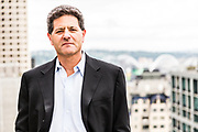 Nick Hanauer, Partner, Second Avenue Partners. Photographed on the roof garden near his office in downtown Seattle by Brian Smale for Der Spiegel Magazine.