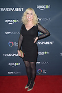 OUR LADY J at the premiere of Amazon's 'Transparent' season two at the Pacific Design Center in Los Angeles, California