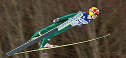 05.02.2011, Heini Klopfer Skiflugschanze, Oberstdorf, GER, FIS World Cup, Ski Jumping, 1. Wertungsdurchgang, im Bild Tom Hilde (NOR) , during ski jump at the ski jumping world cup in Oberstdorf, Germany on 05/02/2011, EXPA Pictures © 2011, PhotoCredit: EXPA/ P. Rinderer
