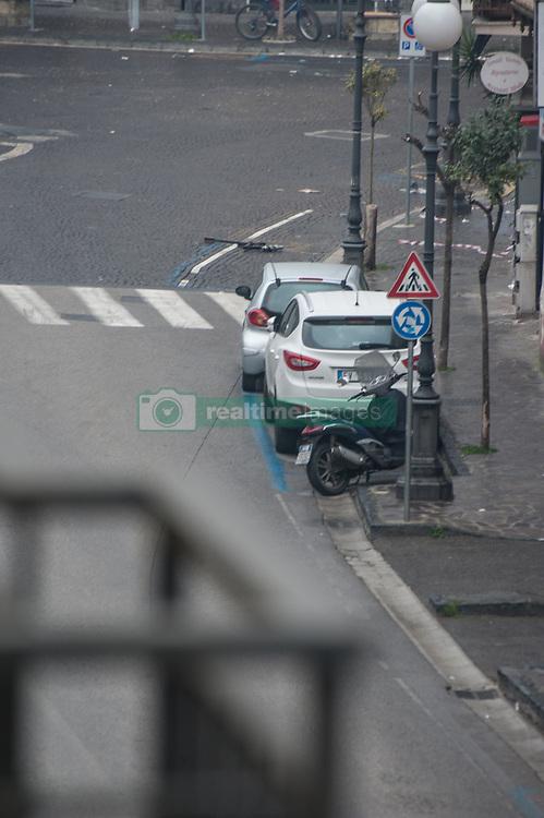 May 3, 2017 - Qualiano, Italy - A bomb threat at municipality of Qualiano Napoli, without exploding suitcase (Credit Image: © Giuseppe Ricciardiello/Pacific Press via ZUMA Wire)