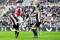 Football - 2021 / 2022 Premier League - Newcastle United vs West Ham United - St James Park - Sunday 15th August 2021<br /> <br /> Said Benrahma of West Ham scores to make it 2-2<br /> <br /> Credit: COLORSPORT/Bruce White