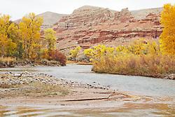 Wind River Autumn, Dubois, Wyoming,
