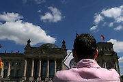 Berlin, Reichstag, the parliament house