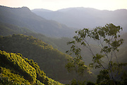 Domingos Martins_ES, Brasil...Paisagem vista de um trecho da Rota Imperial da Estrada Real, antiga estrada de Dom Pedro de Alcantra...The landscape view of a stretch of  the Ancient Rota Imperial, know as Dom Pedro de Alcantara road...Foto: LEO DRUMOND / NITRO