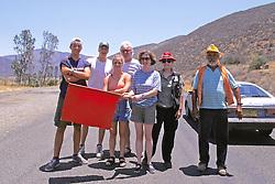 Mike Rick Jack Jen Shirley Lee & Road Worker