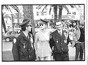 Paula Hamilon, Croissette and About, Cannes Film Festival 12th Mayy 1997© Copyright Photograph by Dafydd Jones 66 Stockwell Park Rd. London SW9 0DA Tel 020 7733 0108 www.dafjones.com