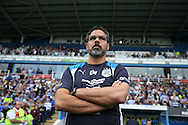 David Wagner, the Huddersfield Town manager looks on from the touchline . EFL Skybet  championship match, Reading  v Huddersfield Town at The Madejski Stadium in Reading, Berkshire on Saturday 24th September 2016.<br /> pic by John Patrick Fletcher, Andrew Orchard sports photography.