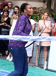 August 23, 2018 - New York City, New York, U.S. - Tennis player VENUS WILLIAMS attends the .2018 Lotte Palace Invitational Badminton Tournament held at the Lotte New York Palace. (Credit Image: © Nancy Kaszerman via ZUMA Wire)