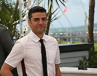 Actor Oscar Isaac.at the Coen brother's new film 'Inside Llewyn Davis' photocall at the Cannes Film Festival Sunday 19th May 2013