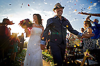 The wedding of Eric Parsons & Adriana Trujillo, Saturday Sept. 29, 2012..Photo Brian Baer