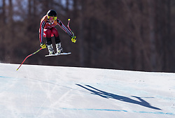 February 17, 2018 - PyeongChang, South Korea - CANDACE CRAWFORD of Canada during Alpine Skiing: Ladies Super-G at Jeongseon Alpine Centre at the 2018 Pyeongchang Winter Olympic Games. (Credit Image: © Patrice Lapointe via ZUMA Wire)