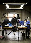 Limhamn 2014.<br /> Fredrik Serger, CEO of Setrab. Setrab makes radiators for top-end cars.<br /> Photo Ola Torkelsson ©