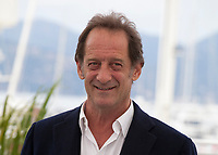 Actor Vincent Lindon at the En Guerre (In War) film photo call at the 71st Cannes Film Festival, Wednesday 16th May 2018, Cannes, France. Photo credit: Doreen Kennedy