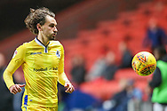 Bristol Rovers midfielder Edward Upson (6) during the EFL Sky Bet League 1 match between Charlton Athletic and Bristol Rovers at The Valley, London, England on 24 November 2018.