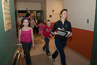 Family Fun Fitness night at Woodland Heights School.