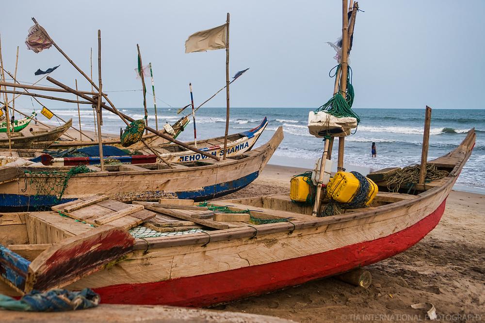 Fishing Boats, Kokrobite