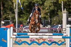 Thomas Gilles, BEL, Comdero I Van Beek Z<br /> Belgian Championship 7 years old horses<br /> SenTower Park - Opglabbeek 2020<br /> © Hippo Foto - Dirk Caremans<br />  13/09/2020