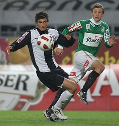 09.11.2010, Stadion der StadtLinz, Linz, AUT, OEFB-Cup, LASK Linz vs SV Ried, im Bild Spielszene, EXPA Pictures © 2010, PhotoCredit: EXPA/ R. Hackl