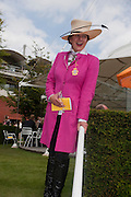 SELINA BLOW, Glorious Goodwood. Ladies Day. 28 July 2011. <br /> <br />  , -DO NOT ARCHIVE-© Copyright Photograph by Dafydd Jones. 248 Clapham Rd. London SW9 0PZ. Tel 0207 820 0771. www.dafjones.com.