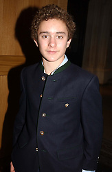 LORD DOWNPATRICK grandson of HRH The Duke of Kent at the Depal Trust 2in1 Art Party at The National Portrait Gallery, London on 25th October 2004.<br /><br /><br /><br />NON EXCLUSIVE - WORLD RIGHTS