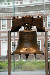 Liberty Bell closeup..Philadelphia, Pennsylvania, PA USA.  Photo copyright Lee Foster, 510-549-2202, lee@fostertravel.com, www.fostertravel.com. Photo 259-30754