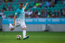 Jasmin Kurtic of Slovenia during football match between National teams of Slovenia and Malta in Round #6 of FIFA World Cup Russia 2018 qualifications in Group F, on June 10, 2017 in SRC Stozice, Ljubljana, Slovenia. Photo by Vid Ponikvar / Sportida