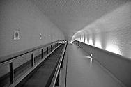 Moving walkway, Paris Charles de Gaulle Airport, Paris, France