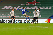 GOAL 3-0 Cardiff City's Harry Wilson (23) scores his side's third goal during the EFL Sky Bet Championship match between Cardiff City and Barnsley at the Cardiff City Stadium, Cardiff, Wales on 3 November 2020.