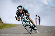 Rafal Majka (POL - Bora - Hansgrohe) during the 105th Edition of Tour de France 2018, cycling race stage 19, Lourdes - Laruns (200 km) on July 27, 2018 in Laruns, France - photo Kei Tsuji / BettiniPhoto / ProSportsImages / DPPI