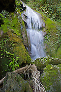 One of the waterfalls making up the Mele-Maat Cascades in Vanuatu.