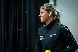 Angela Malestein of Netherlands before the Women's EHF Euro 2020 match between Netherlands and Germany at Sydbank Arena on december 14, 2020 in Kolding, Denmark (Photo by RHF Agency/Ronald Hoogendoorn)