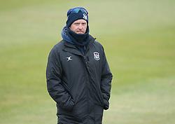 Gloucestershire Assistant Head Coach Ian Harvey looks on.    - Mandatory byline: Alex Davidson/JMP - 24/03/2016 - CRICKET - Taunton Vale CC - Taunton , England - Somerset v Gloucestershire -  Pre Season