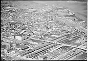 Ackroyd 02442-09. Aerials for Oregonian. September 28, 1950 Lovejoy Viaduct