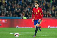 Spain's Marc Bartra during the match of European qualifying round between Spain and Macedonia at Nuevo Los Carmenes Stadium in Granada, Spain. November 12, 2016. (ALTERPHOTOS/Rodrigo Jimenez)