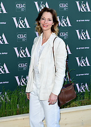 Sienna Guillory attending the VIP preview for the V&A Museum's Fashioned From Nature exhibition, in London. Picture date: Wednesday April 18, 2018. Photo credit should read: Ian West/PA Wire