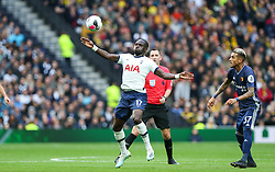 Moussa Sissoko of Tottenham Hotspur stretches out to control the ball - Mandatory by-line: Arron Gent/JMP - 19/10/2019 - FOOTBALL - Tottenham Hotspur Stadium - London, England - Tottenham Hotspur v Watford - Premier League