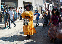 Ajijic, Jalisco State, Mexico. 13 February, 2018. Mardi Gras Festival and Parade