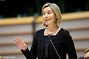 Plenary session Week 05 2017 in Brussels.<br /> Travel restrictions following US President executive orders #isopix #europeanparliament